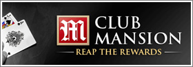 mansion poker bonus code